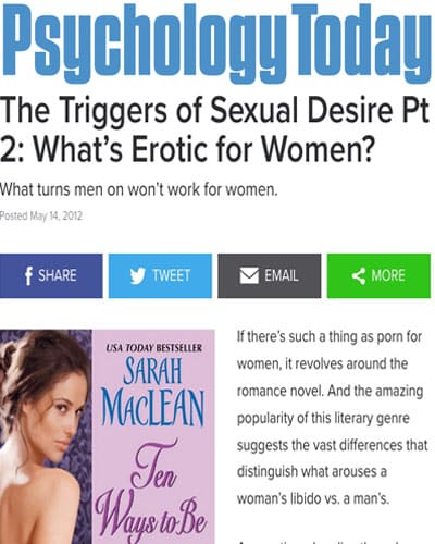 What's Erotica for Women