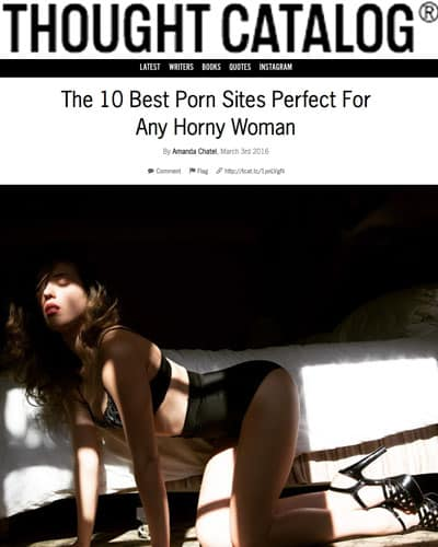 A lot of women love porn and incorporate it into both their sex lives and masturbation practices