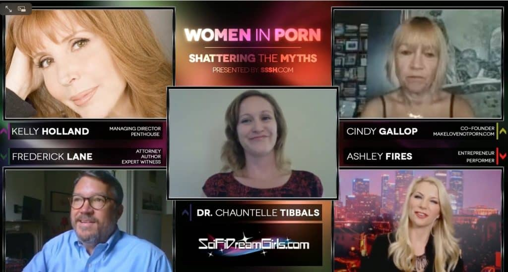 Dr. Chauntelle Tibbals, Ashley Fires, Cindy Gallop, Kelly Holland and Fred Lane joins us for a discussion about women in porn.